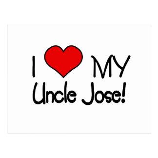 Amo a mi tío Charles Postales