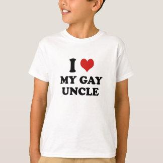Amo a mi tío gay playera