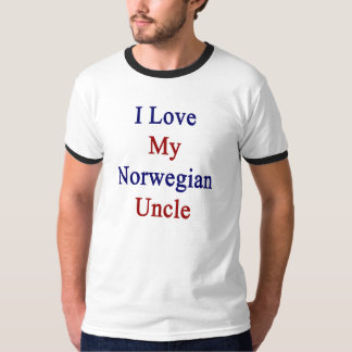 Amo a mi tío noruego playera