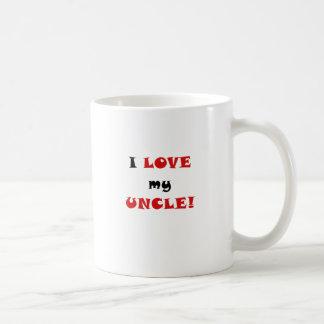 Amo a mi tío taza