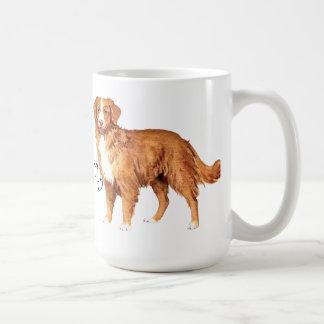 Amo a mi Toller Taza De Café