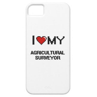 Amo a mi topógrafo agrícola iPhone 5 coberturas