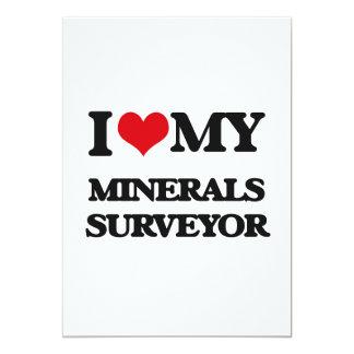Amo a mi topógrafo de los minerales anuncios