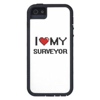 Amo a mi topógrafo iPhone 5 funda