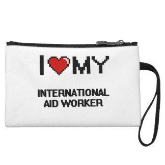 Amo a mi trabajador de ayuda internacional
