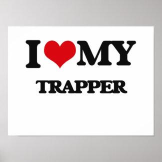 Amo a mi trampero poster