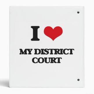 Amo a mi tribunal de distrito
