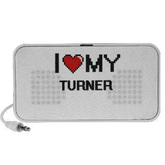 Amo a mi Turner Mp3 Altavoz