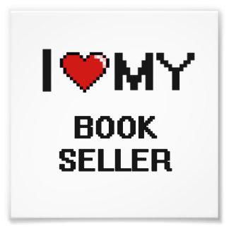 Amo a mi vendedor de libro arte fotográfico