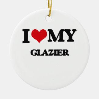 Amo a mi vidriero ornato