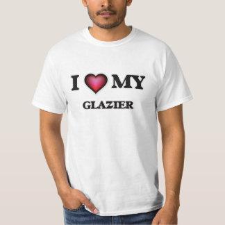 Amo a mi vidriero playera