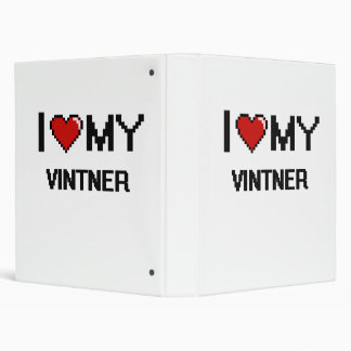 Amo a mi Vintner Carpeta 2,5 Cm