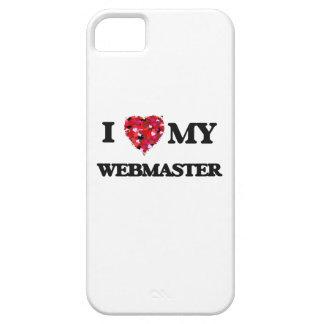 Amo a mi Webmaster iPhone 5 Carcasas