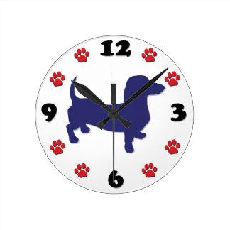 Amo a mi Weiner - Dachshund Reloj