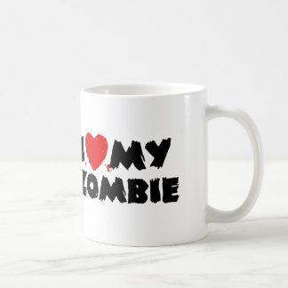 Amo a mi zombi tazas de café