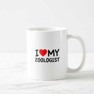 Amo a mi zoologista taza clásica