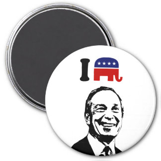 Amo a Michael Bloomberg Imán Redondo 7 Cm
