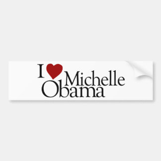 Amo a Michelle Obama Pegatina Para Auto