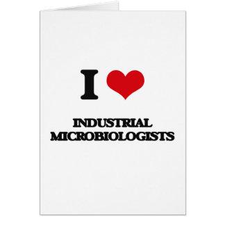 Amo a microbiólogos industriales