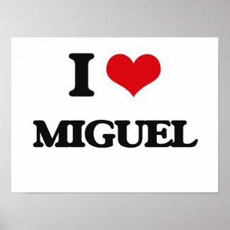 Amo a Miguel Póster