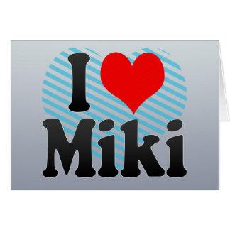 Amo a Miki, Japón Felicitacion