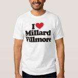 Amo a Millard Fillmore Playeras