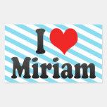 Amo a Miriam Rectangular Altavoz