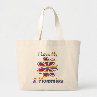Amo a mis 2 mamás bolsa