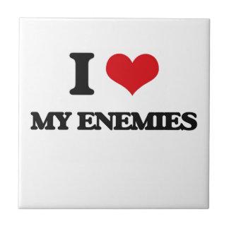 Amo a mis enemigos azulejos cerámicos