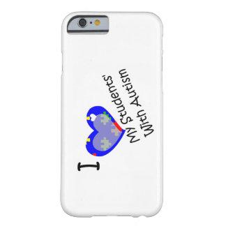 Amo a mis estudiantes con el caso del iPhone 6 del Funda De iPhone 6 Barely There