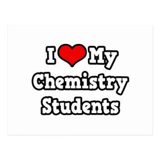 Amo a mis estudiantes de la química postal