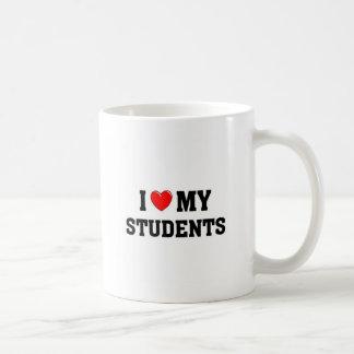 Amo a mis estudiantes taza