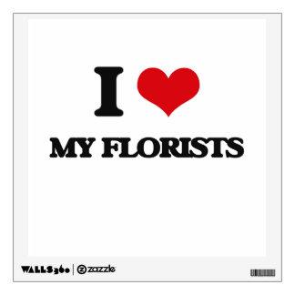 Amo a mis floristas
