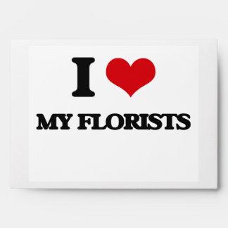 Amo a mis floristas sobre