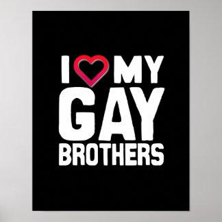 AMO A MIS HERMANOS GAY - - .PNG IMPRESIONES