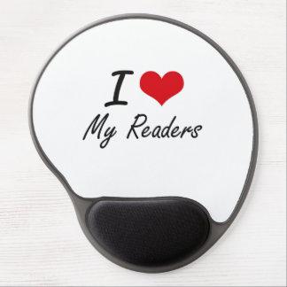 Amo a mis lectores alfombrilla gel