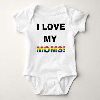Amo a mis mamáes body para bebé