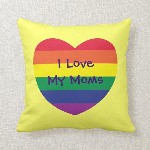 Amo a mis mamáes cojín