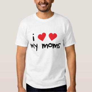 Amo a mis mamáes playeras