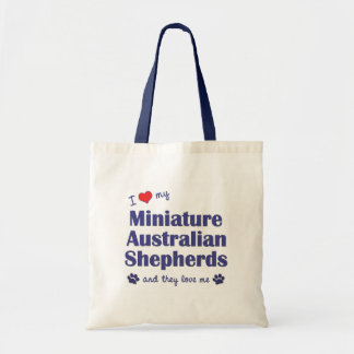 Amo a mis mini pastores australianos (los perros m