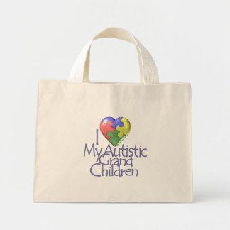 amo a mis nietos autísticos bolsas de mano