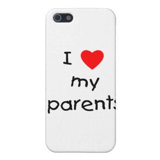 Amo a mis padres iPhone 5 funda