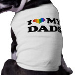 Amo a mis papás camisas de mascota
