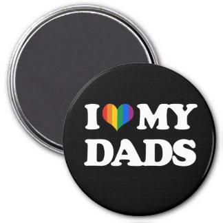 Amo a mis papás - iman para frigorífico