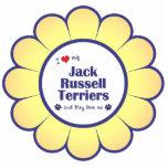Amo a mis terrieres de Jack Russell (los perros mú Escultura Fotográfica