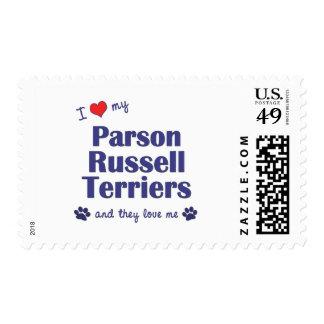 Amo a mis terrieres de Russell del párroco (los Franqueo