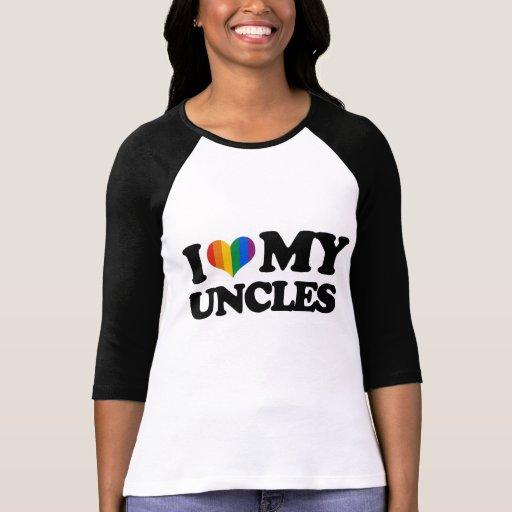 Amo a mis tíos camisetas