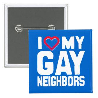 AMO A MIS VECINOS GAY - - .PNG PIN