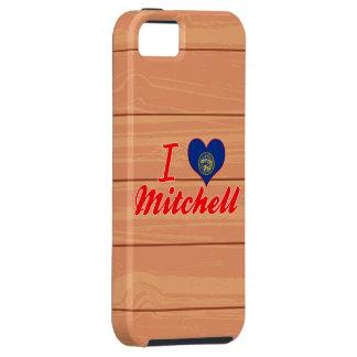 Amo a Mitchell, Nebraska iPhone 5 Protectores