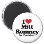 Amo a Mitt Romney para el presidente Imán